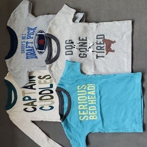 Bundle of 4 Carter's Sleep Shirts 2T